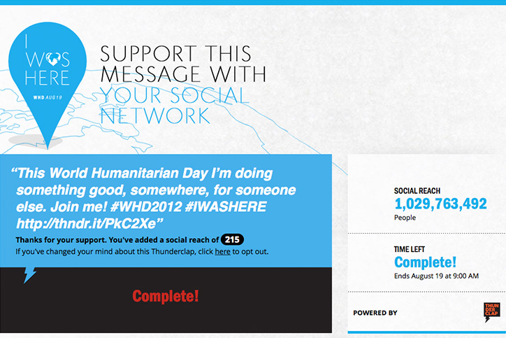 Beyoncé United Nations World Humanitarian Day project reaches over one billion people on social media
