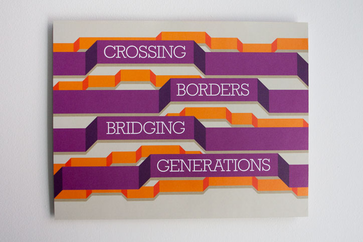 Brooklyn Historical Society Crossing Borders Bridging Generations Poster Cover