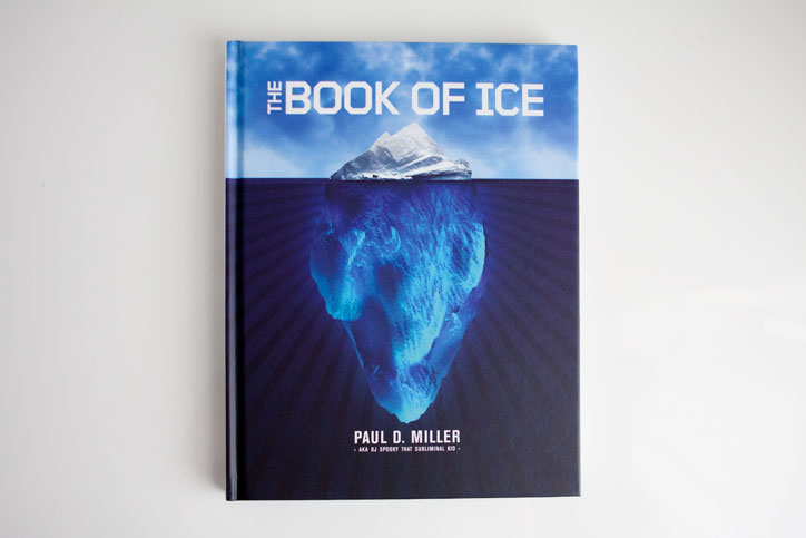 DJ Spooky Book of Ice cover