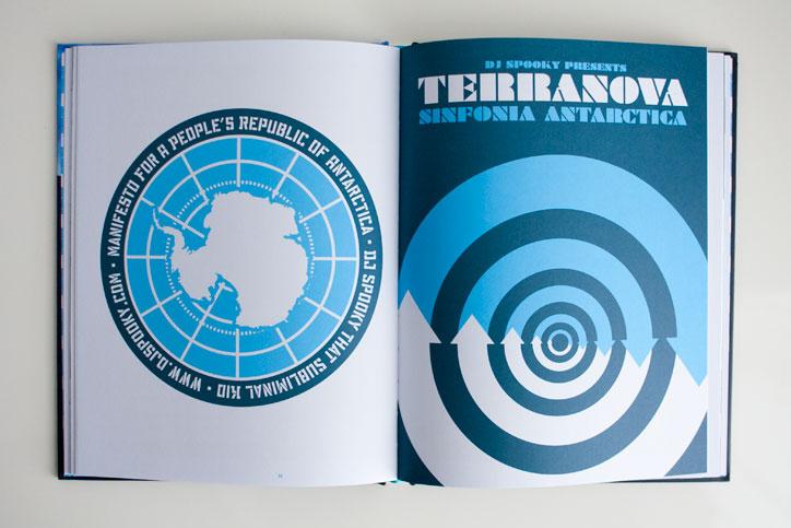 DJ Spooky Poster Terra Nova Sinfonia Antarctica
