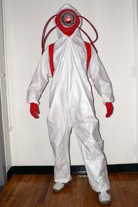 Ken Tanabe Halloween 2005 Red Hazmat