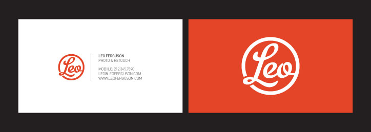 Leo Ferguson Business Card