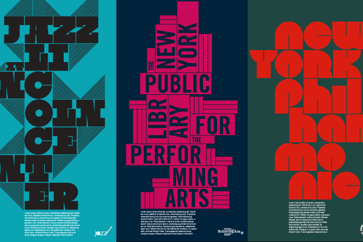 Lincoln Center Posters Pitch