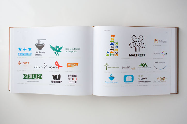 Los Logos 4 Book World Up Logo Spread