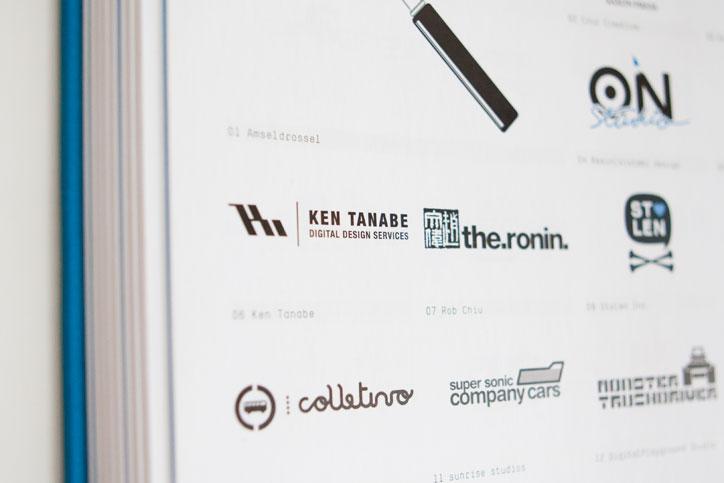 Tres Logos Book Ken Tanabe Logo Detail