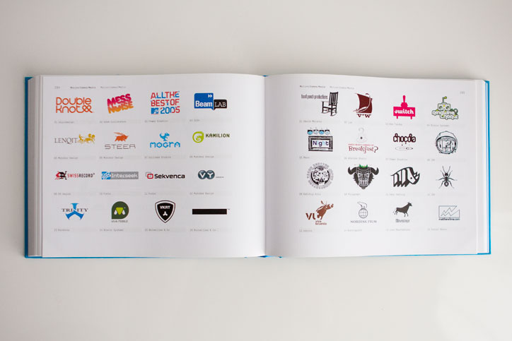 Los Logos Tres Logos Book Switch Logo Spread