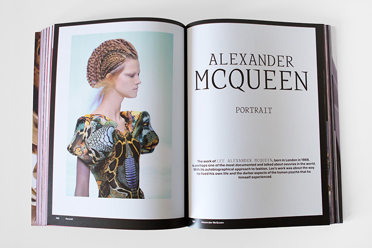 Ken Tanabe costume designs featured with Alexander McQueen and Jean Paul Gaultier in Otherworldly fashion book published by Gestalten