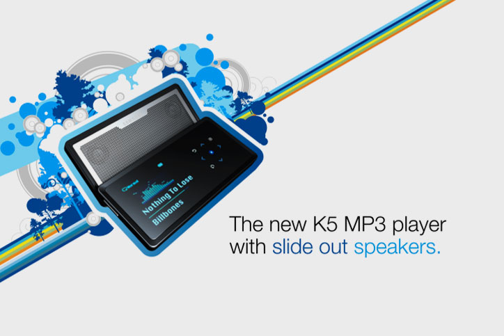 Samsung K5 MP3 Player End Tag