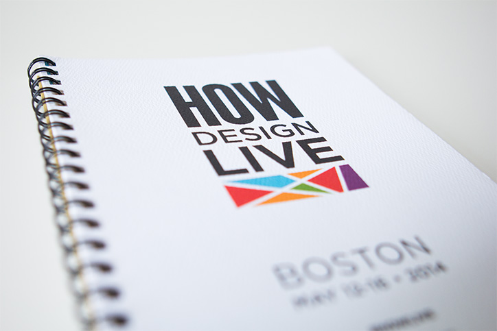 Ken Tanabe speaking session listed in the HOW Design Conference catalog