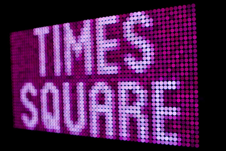 Times Square Alliance Visitor Center Typeface