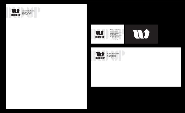 World Up Letterhead